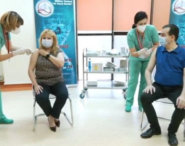 Ludovic Orban și Anca Dragu s-au vaccinat împotriva coronavirus. Ce au transmis oficialii