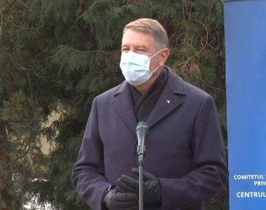 """Iohannis: """"Vaccinarea singură nu rezolvă pandemia."""" Când scăpăm de restricții?"""