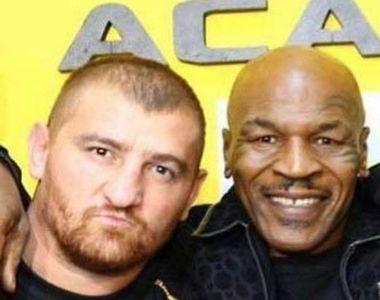 """Știai că Mike Tyson  a """"pariat"""" pe succesul lui Cătălin Moroșanu, Faimosul de la..."""