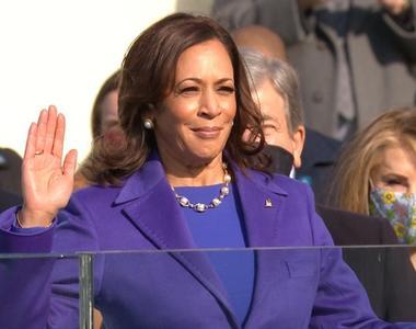 Kamala Harris a depus jurământul de învestire în funcţia de vicepreşedinte al SUA - VIDEO