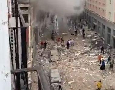 Explozie de ultim moment. S-au înregistrat cel puțin doi morți