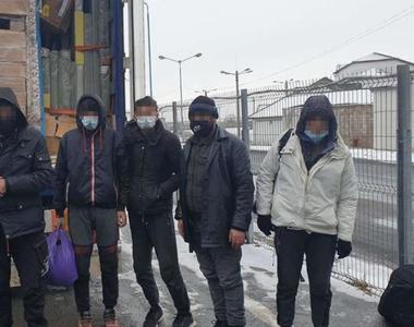 Arad: Mai mulți migranți, prinși când încercau să treacă ilegal fontiera în Ungaria