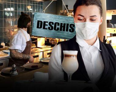 VIDEO -Începând de luni, restaurantele și teatrele vor fi redeschise