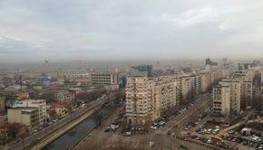 Alertă în București: Creşteri importante ale concentraţiilor de poluanţi