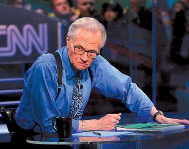 Jurnalistul american Larry King a murit. O adevărată legendă a televiziunii