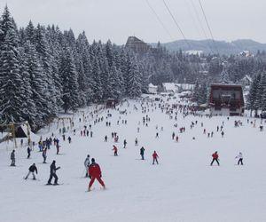 Poiana Brașov, plină de turiști