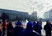 Proteste în Bucureşti, faţă de îngheţarea salariilor şi a pensiilor militare