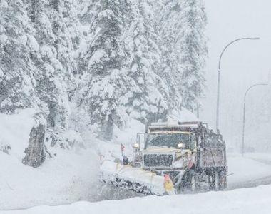 VIDEO-Vin din nou temperaturi de primăvară, dar după ninsori puternice