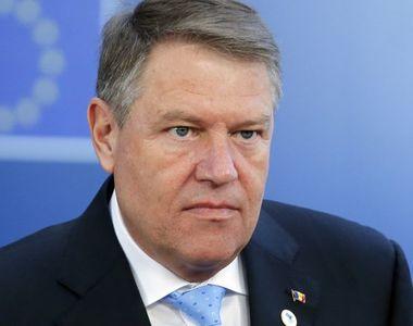 CCR discută marţi sesizarea lui Iohannis referitoare la legea prin care este redusă...