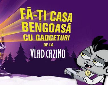 Gadgeturi de top pentru fiecare cameră și alte super premii la Vlad Cazino