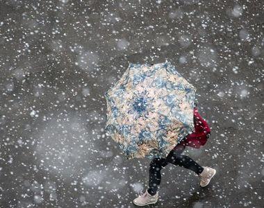 Prognoza meteo pentru București. Cât de mare va fi stratul de zăpadă joi în Capitală