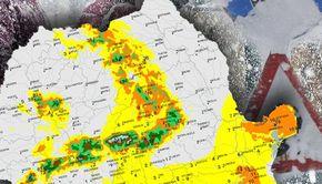 VIDEO - Viscolul ca un uragan a lovit cu putere mare parte din România