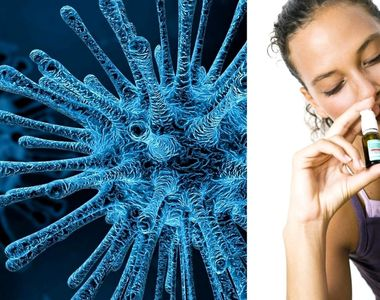 Spray-ul nazal care ucide coronavirusul într-un minut