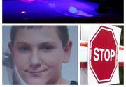 Un copil de 13 ani, dat dispărut în județul Cluj. A fost căutat toată noaptea