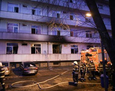 Incendiu Matei Balș: A fost deschis dosar penal in rem pentru ucidere din culpă