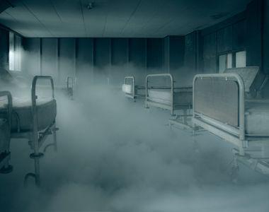 """Incendiu Matei Balş. """"Filmul"""" tragediei. Imaginile groazei din spitalul din..."""