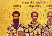 Calendar ortodox 30 ianuarie 2021: Sărbătoare mare sâmbătă pentru credincioși