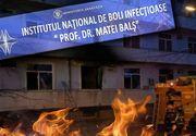 VIDEO - Incendiul de la Matei Balș. Filmul evenimentelor unei tragedii