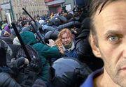 VIDEO| Protestatarii, alergați și arestați în Rusia