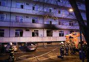 """Încă un pacient aflat în pavilionul afectat de incendiu, transferat ulterior la Spitalul """"Elias"""", a murit"""