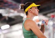 Tenismena Simona Halep are probleme medicale. A pierdut meciul în fața rusoaicei Ekaterina Alexandrova