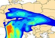 Un nor de praf saharian ajunge în România