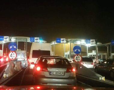 40 cetăţeni străini ascunşi în trei automarfare, depistaţi de poliţiştii de frontieră