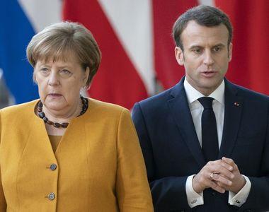 Angela Merkel şi Emmanuel Macron, acord important într-un moment delicat pentru Europa