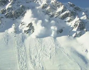 Risc ridicat de avalanşă în Munţii Făgăraş