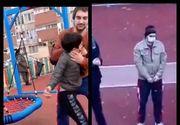 VIDEO| Cum se simte copilul, de 13 ani, bătut în parc?! Imagini emoționante cu minorul aruncat la pământ