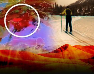 VIDEO - Norul de nisip saharian a ajuns și în România. Furtuna n-a avut aceeași...