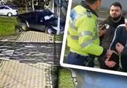 VIDEO - Un criminal eliberat condiționat a făcut un accident violent la volan