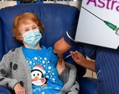 VIDEO - Record de programări la imunizarea cu vaccinul produs de Astrazeneca