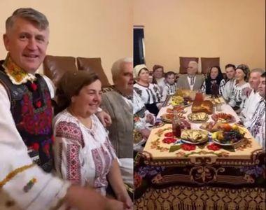 O petrecere de Ziua Îndrăgostiților, oprită de mascați. Fostul preot Cristian Pomohaci,...