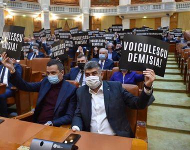 Scandal la moțiunea depusă de PSD împotriva lui Vlad Voiculescu
