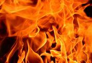 Incendiu la grădiniță. Flăcările au mistuit acoperișul