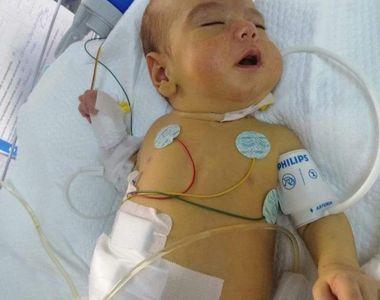 Strigăt de ajutor pentru Matei. Povestea emoționantă a unui bebeluș de cinci luni