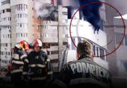 VIDEO - O femeie s-a aruncat de la etajul șase din cauza unui incendiu