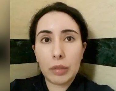 """Prințesa din Dubai, mesaj disperat: """"Sunt ținută ostatică"""" (VIDEO)"""