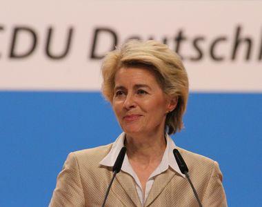 Ursula von der Leyen a mulţumit României pentru ajutorul umanitar oferit Republicii...
