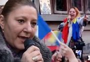 VIDEO - Senatoarea Diana Șoșoacă, un parlamentar prezent la toate protestele