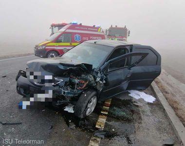 Accident pe centura Alexandriei. Mai multe persoane au fost rănite