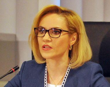 Gabriela Firea, despre amendamentul depus la legea bugetului pentru creșterea alocațiilor
