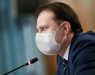 Premierul Florin Cîțu, anunț după ședința de Guvern. Ce decizii au fost luate azi