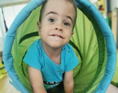 Povestea emoționantă a lui Luca-David, un băiețel de 4 ani cu leziuni profunde pe...