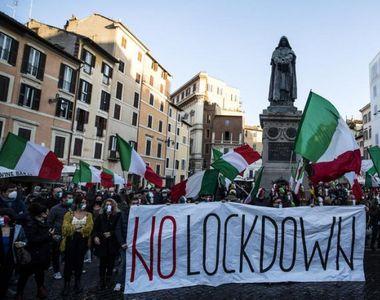 Italia, în lockdown până după Paște. Anunțul oficial