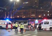 BREAKING: Accident grav în București, între un autoturism și o motocicletă. Motociclistul a murit