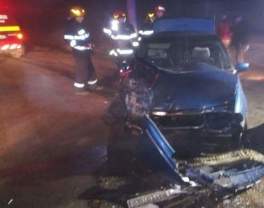 VIDEO - Plan roșu de intervenție în Giurgiu, la un accident cu zece oameni