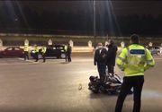 VIDEO - Un polițist și-a pierdut viața într-un accident de motocicletă