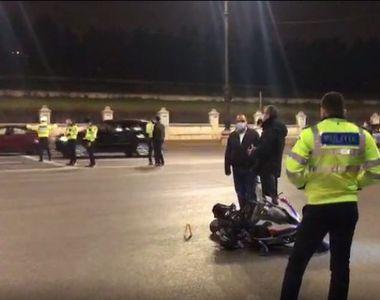 VIDEO - Un polițist și-a perdut viața într-un accident de motocicletă